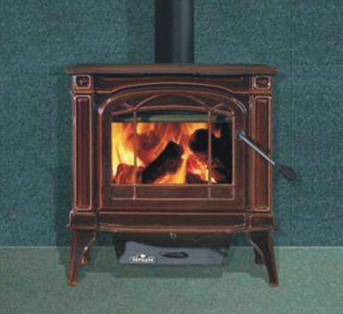 The Napoleon 1100C comes with classic European styling for an elegant look in your small to medium size cabin heating 600-1,600 Sq. Ft.