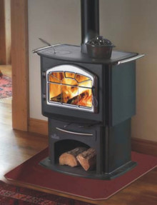 The Napoleon 1150P EPA certified wood stove is not your typical wood stove. With this stove, not only can you heat your cabin, but you can cook as well.