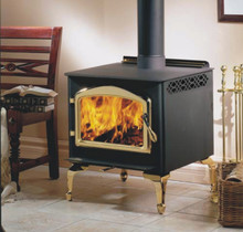 The Napoleon 1100PL is perfect for the small to medium size cabin. This EPA certified wood stove can heat from 600-1,600 Sq. Ft.