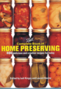 This 448 page book includes comprehensive directions on safe canning and preserving methods, and equipment.