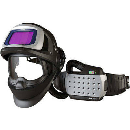 The 9100 FX combines legendary Speedglas quality and auto darkening with an innovative wide-view grinding visor to give welders an all-in-one solution for more flexibility, precision, and efficiency. The exceptionally clear, wide grinding visor offers a greater field of view in all directions, while a smooth flip-up pivot mechanism assures effortless transition from welding to grinding modes.