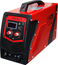 The Matweld Cut 70 Plasma Cutter is part of a professional range of plasma cutters, featuring  IGBT power source, High Frequency (HF) start, 20-70amp digital display, post flow up to 15secs to cool torch consumables, 2T/4T function and a Trafimet A51 Plasma Torch.
