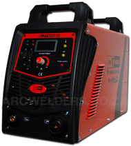 The Matweld Cut 100 Plasma Cutter is part of a professional range of plasma cutters, featuring  IGBT power source, High Frequency (HF) start, 30-100amp digital display, post flow up to 60 secs to cool torch consumables, 2T/4T function and a Trafimet A101 Plasma Torch.