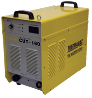 The Thermamax Cut 160-i HF Plasma Cutter is capable of cutting up to 45mm steels and 25mm stainless.