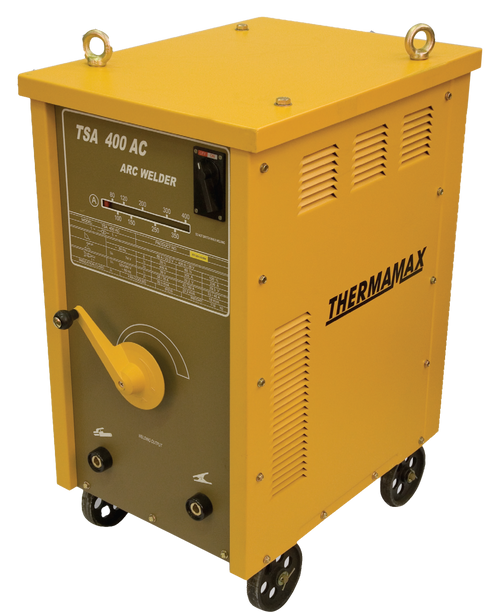 The Thermamax TSA 400 Arc Welder is a transformer based welder, ideal for the manufacturing and mining industry.