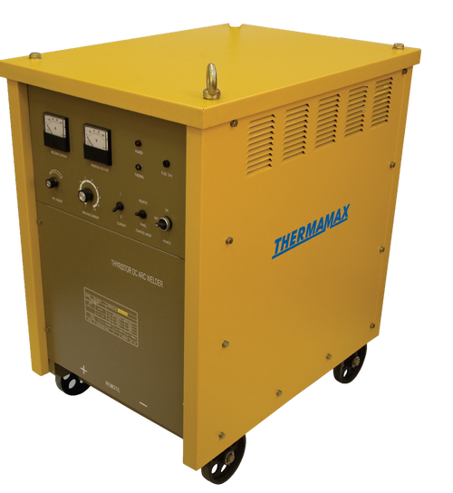 The Thermamax TSA 400 Rectifier Arc Welder is a transformer based industrial welder, ideal for the manufacturing and mining industry.