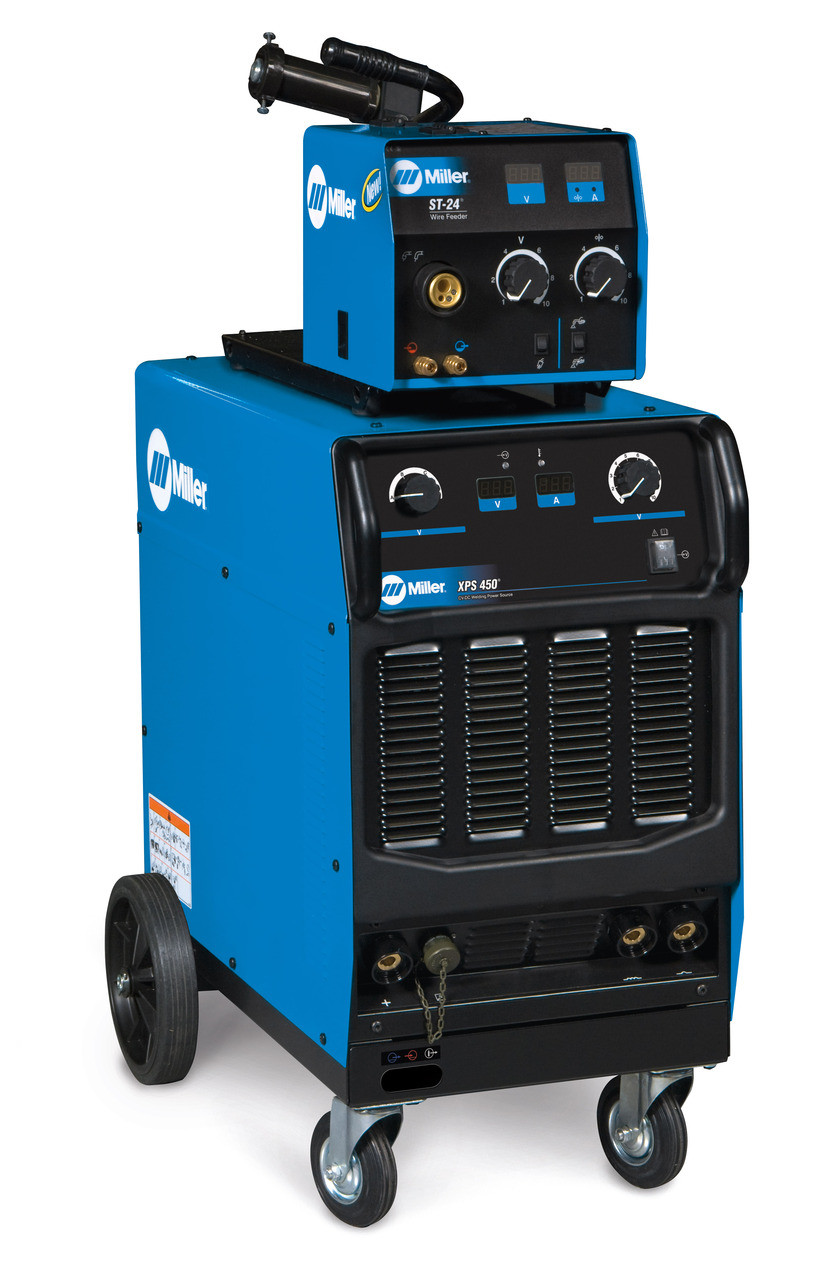 Miller XPS 450 MIG Welder with Water Cooled Package