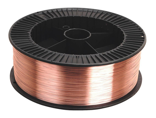 E71T-11 is an all-position self-shielded flux cored welding wire meeting all requirements for the E71T-11 classification.E71T-11 is excellent for use on single or multiple pass lap, fillet and butt welds on mild steels in all welding positions. Limitations do exist for multipass welds in excess of 9.5 mm. It produces smooth arc action, full slag coverage, easy slag removal, and low spatter. This product should find excellent acceptance in general purpose mild steel fabrication. In structural fabrication, the product can be used where no seismic requirements are present.