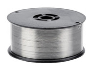ER5356 is a stiffer wire and is used when higher strength weld properties are needed. Use a stainless steel wire brush to clean the aluminium before welding, this will help to remove the oxide layer.