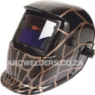 Matweld Auto Darkening Welding Helmet - Black Web