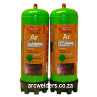 Argon Gas Portable Disposable Bottle