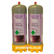 CO2 Portable Disposable Welding Bottle