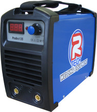 The R-Tech Pro-Arc135 is a portable MMA Stick Arc welder featuring Inverter technology, runs off a 240V supply and comes in rugged carry case and all welding leads.