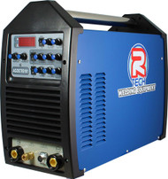 The TIG 161 AC/DC 160Amp Inverter TIG Welder features patented HF Microstart, AC Squarewave adjustment to 250hz, pulse welding, slope up/down, LED display and high 35% duty cycle.