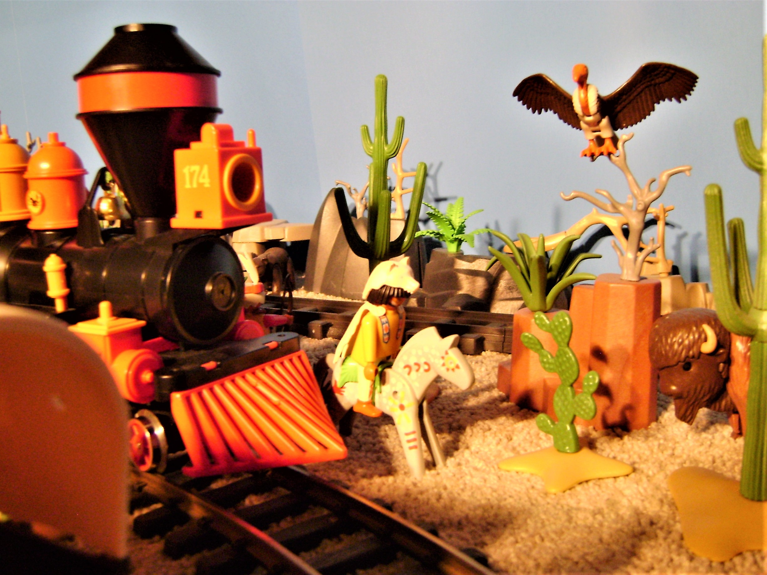 Playmobil Train Layout at 2015 Eagan Train Show - YouTube |Playmobil Train Layouts
