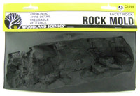 Woodland Scenics C1244 ROCK MOLD FACET ROCK Rubber Train Scenery Accessory bcg