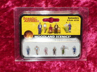 Woodland Scenics A2156 N BYSTANDERS FIGURES People z