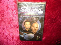 Star Trek NEXT GENERATION NOVEL #25 GROUNDED Book z