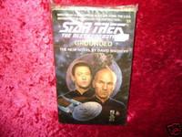 Star Trek NEXT GENERATION NOVEL #25 GROUNDED Book z