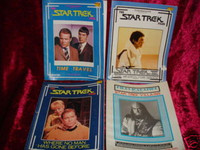 STAR TREK FILES MAGAZINES Lot of 4 Time Travel Villains books z
