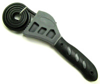 RUBBER STRAP WRENCH SMALL Tool Oil Filters Jar Lids Plumbing bcg