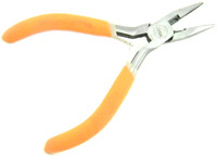 "PLIERS LONG NOSE w/ Cutter 5"" Hobby Tool Floral Electrical bcg"