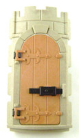 Playmobil 3666 Castle Parts Tower ROUND WALL DOOR Part Kings Knights bcg