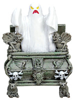 Lemax 72378 GLOWING HAUNTED CRYPT Spooky Town Figurine Retired Halloween Decor bcg