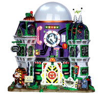 Lemax 35549 GHOST CONTAINMENT BUILDING Spooky Town Halloween Decor bcg