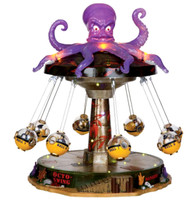 Lemax 14379 OCTO-SWING Spooky Town Retired Halloween Decor New bcg