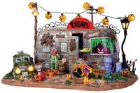 Lemax 14323 KILLER CLOWN MOBILE HOME Spooky Town Halloween Decor bcg