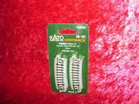 "Kato 20101 N UNITRACK CURVED TRACK R9-3/4"" 15 Degree z"