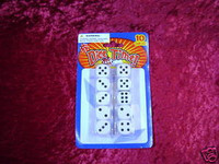 GAME DICE Pack of 10 New i