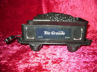 EZTEC TENDER CAR RIO GRANDE Train Smokey Canyon G z