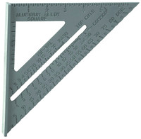 COMBINATION SQUARE Aluminum Rafter Angle Square 4-in-1 Protractor Tri Miter bcg