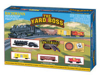 Bachmann 24014 N YARD BOSS TRAIN SET Santa Fe SF z