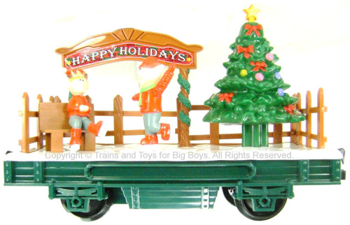Ho Christmas Train.Eztec Skating Elf Carol Car Animated Christmas Train Car G Scale Scientific Toys Bcg