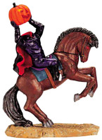 Lemax 22592 HEADLESS RIDER Spooky Town Figurine Halloween Decor Village Figure bcg