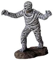 Lemax 42839 THE MUMMY Spooky Town Figurine Halloween Decor Village Figure O G I  bcg