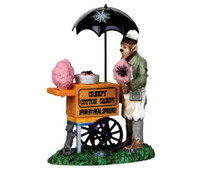 Lemax 12936 CREEPY COTTON CANDY Spooky Town Figurine Halloween Decor Figure bcg