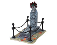 Lemax 83670 SPOOKY CRYPT Spooky Town Accessory Retired Halloween Decor Village bcg