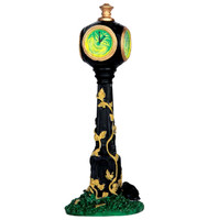 Lemax 64052 CREEPY CLOCK Spooky Town Accessories Halloween Decor G Scale Accessory bcg
