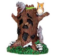 Lemax 44741 SPOOKY TREE STUMP Spooky Town Accessories Halloween Decor G Scale bcg