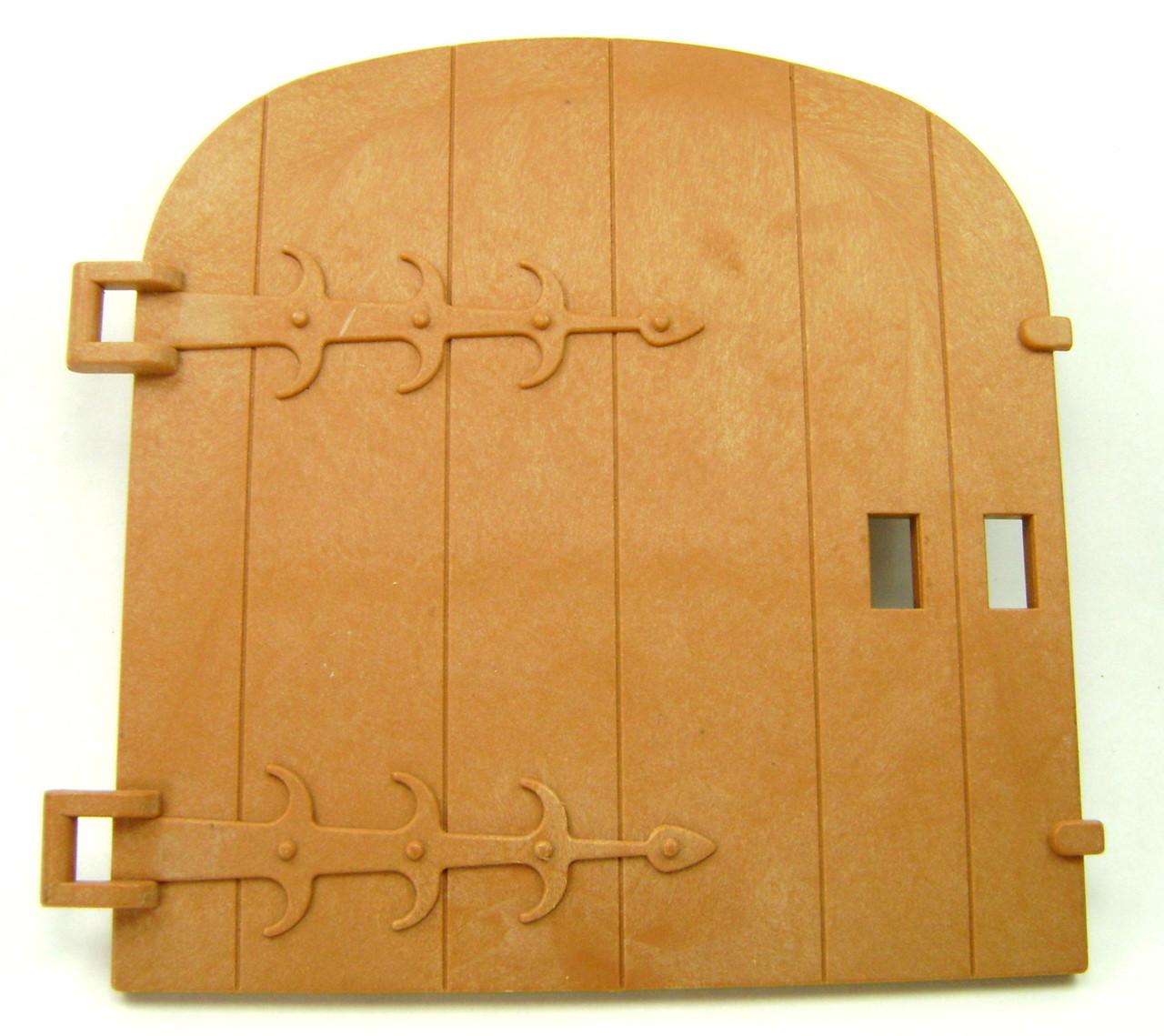 Playmobil Castle Medieval Building Black Sliding Door Latch Spare Part 7109 3666