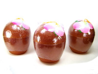COCONUT CUP SET OF 3 Luau Party Plastic Drinking Glass Tiki Decoration Decor bcg