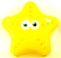 STARFISH SAND MOLD BEACH TOY Plastic Sandbox Sifter Sieve Outdoor Summer Fun bcg