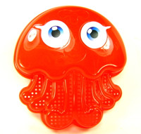 OCTOPUS SAND MOLD BEACH TOY Plastic Sandbox Sifter Sieve Outdoor Summer Fun bcg