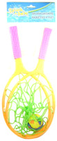 SPLASH CATCHERS 2 Racquets & Ball Summer Fun Toy Set Pool Toys Splash-n-Swim  bcg