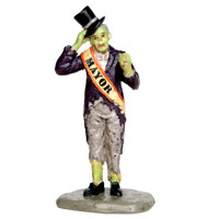 Lemax 52305 NIGHT MAYOR Spooky Town Figurine Halloween Decor Figure bcg