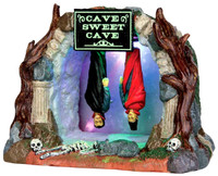 Lemax 54904 CAVE SWEET CAVE Spooky Town Lighted Table Accent Halloween Decor bcg